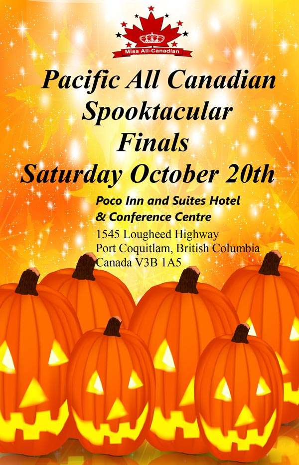 2018 SPOOKTACULAR FINALS - BC - MISS ALL CANADIAN PAGEANTS