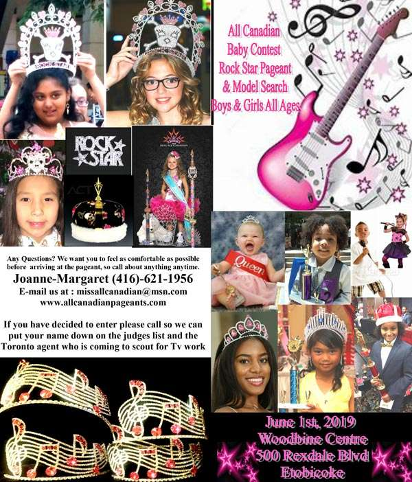 All Canadian Pageant, Woodbine ONTARIO