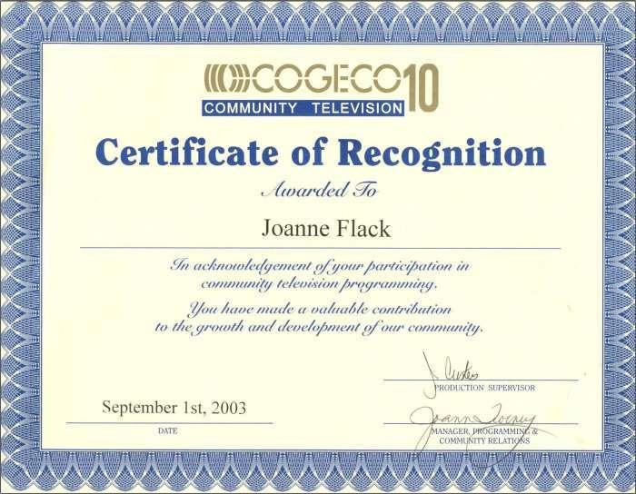Joanne cogeco 3