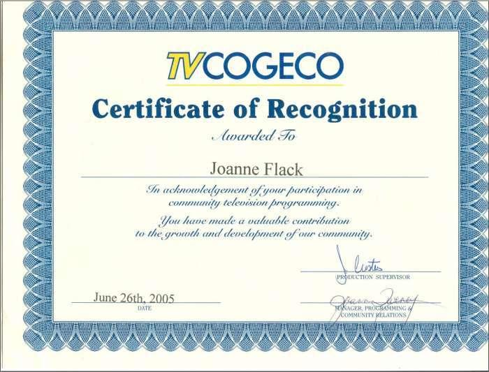 Joanne cogeco 5